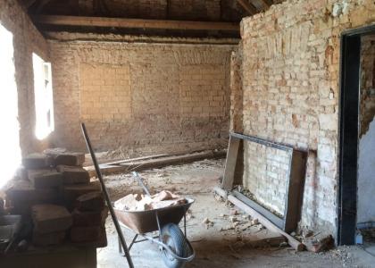 Rekonstrukce svépomocí chalupy po babičce :)